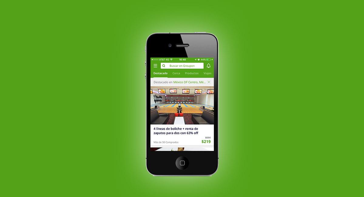 App Groupon: opiniones y comentarios