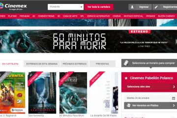 Cinemex: opiniones, comentarios y sugerencias
