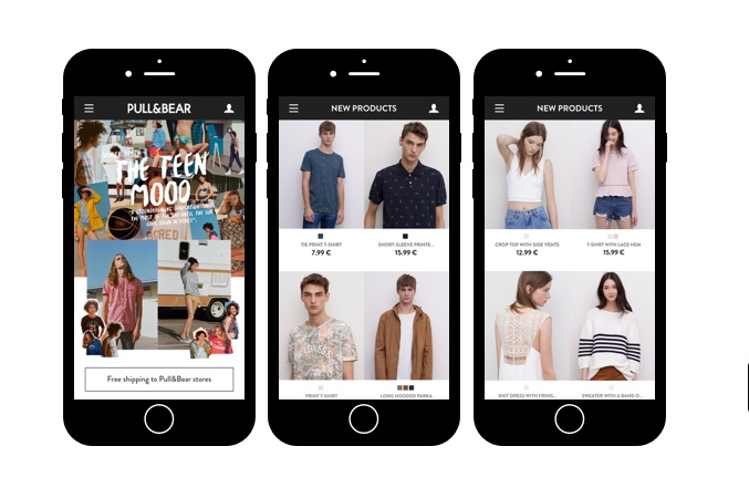 App Pull and Bear