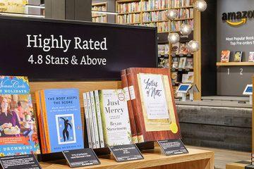 Amazon abre librería en NY; planean abrir 6 más en EU