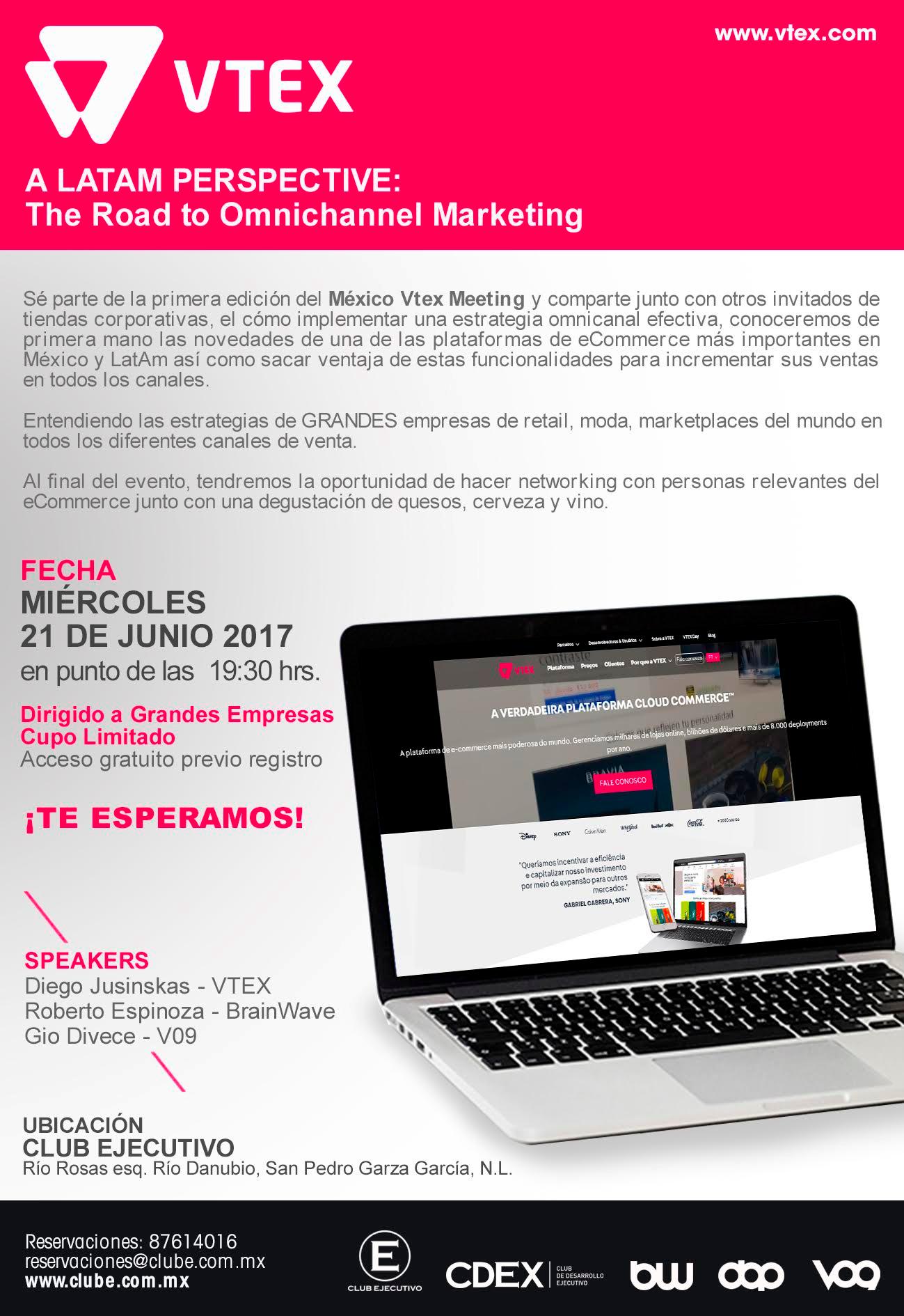 México Vtex Meeting se celebrará el próximo 21 de junio en Monterrey