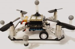 Cómo funciona el prototipo de dron del MIT que vuela y maneja