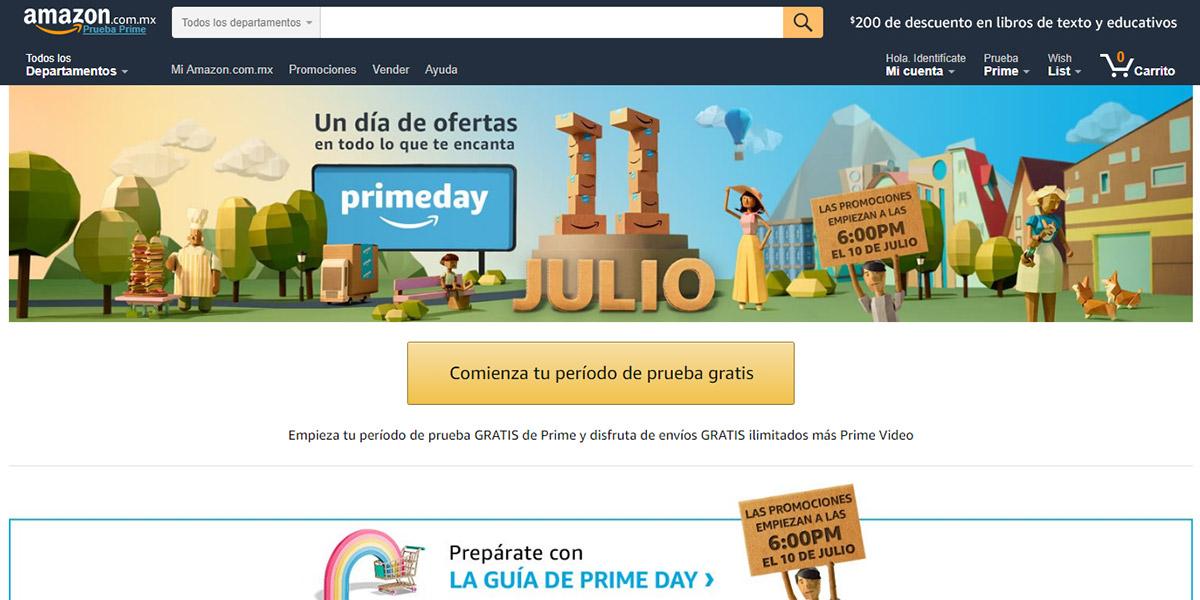 Amazon México participará en Prime Day por primera vez