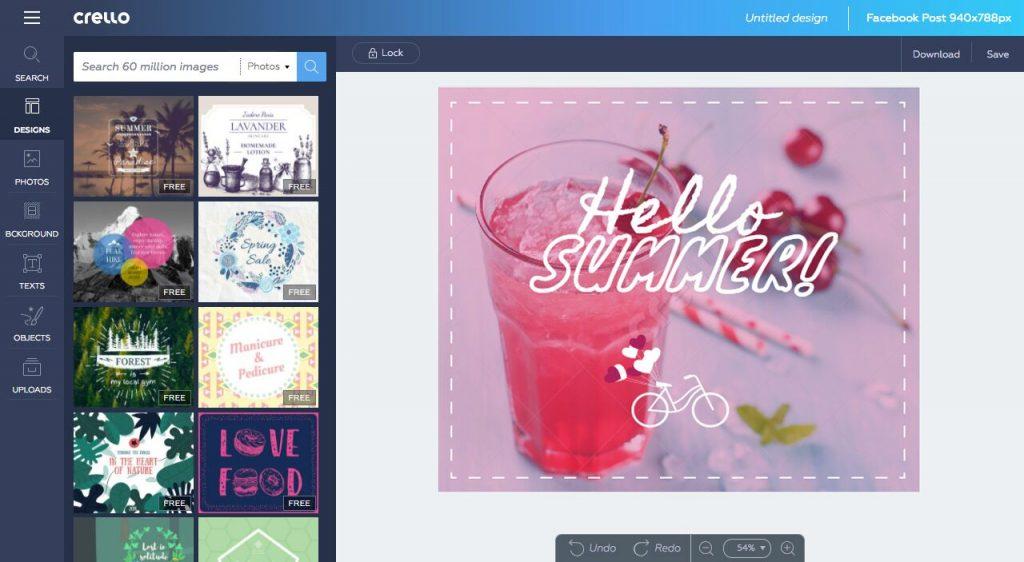 La herramienta Crello, de Depositphotos -la plataforma de contenido visual- amplia su versión a 9 idiomas