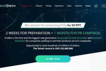 ICOBox, la innovación en la industria del blockchain vía crowdselling para el mundo de negocios