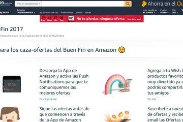Amazon México anuncia promociones de fin de año