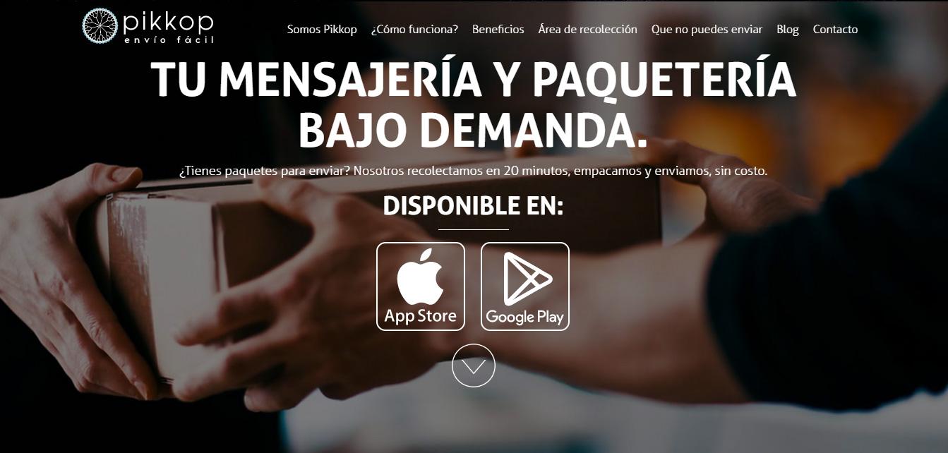 Pikkop, plataforma y app de envíos, busca resolver necesidades de 'primera milla'