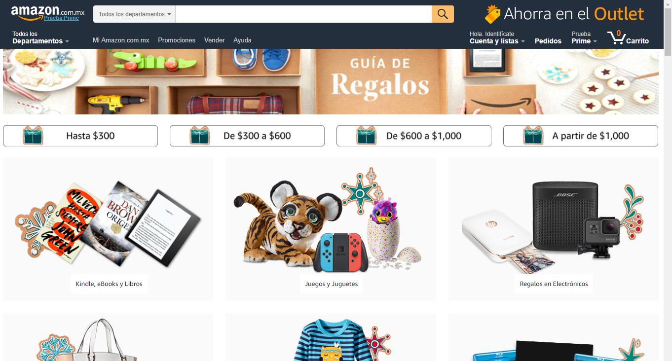 Cómo logra Amazon México una experiencia personalizada en las compras de  Navidad 2017 3ad9c575720