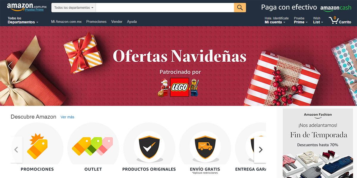 Amazon toma la delantera en México