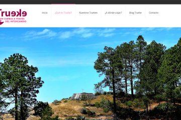 Trueke, una iniciativa con una forma diferente de viajar