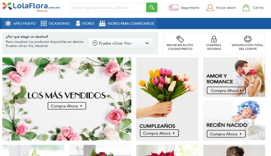 lolaflora web