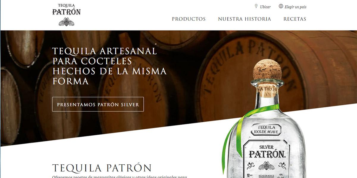 Marca de tequila Patrón vende en app con Realidad Aumentada