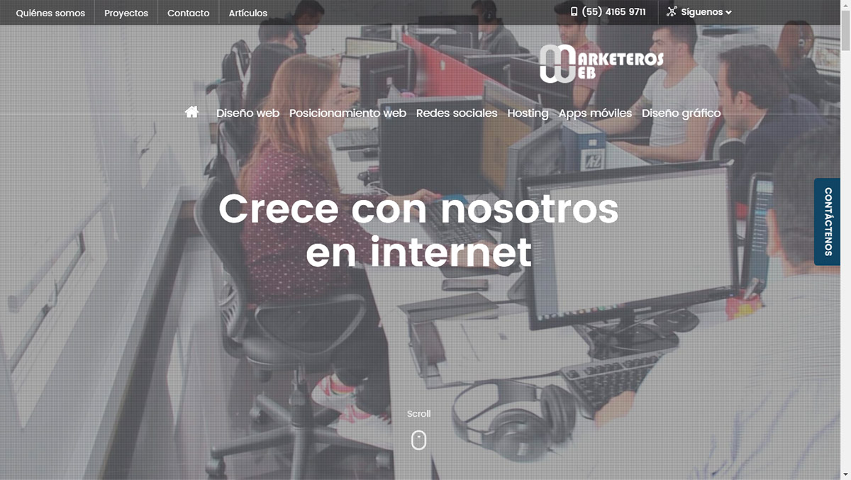 Marketeros Web