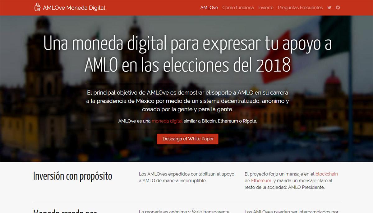 Crean nueva moneda virtual, AMLOve, para apoyar a aspirante a la presidencia