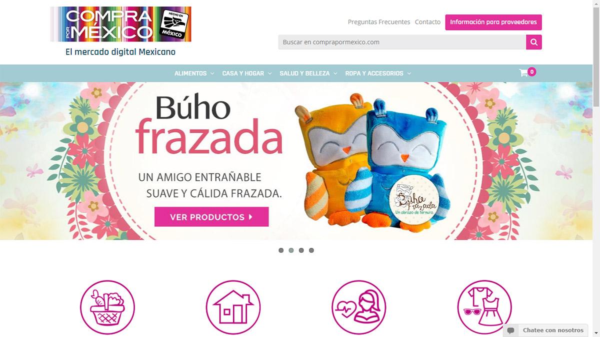 Crean Compra por México, eCommerce para promover productos mexicanos