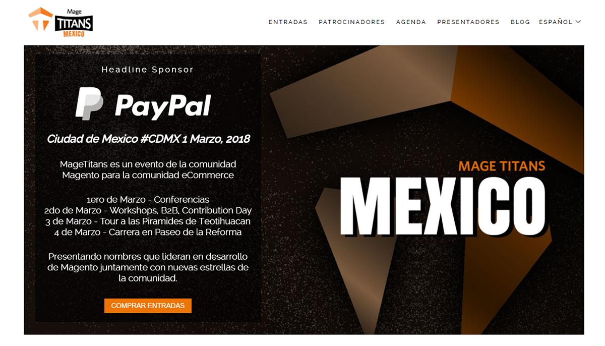 Mage Titans: un evento para la comunidad Magento en México