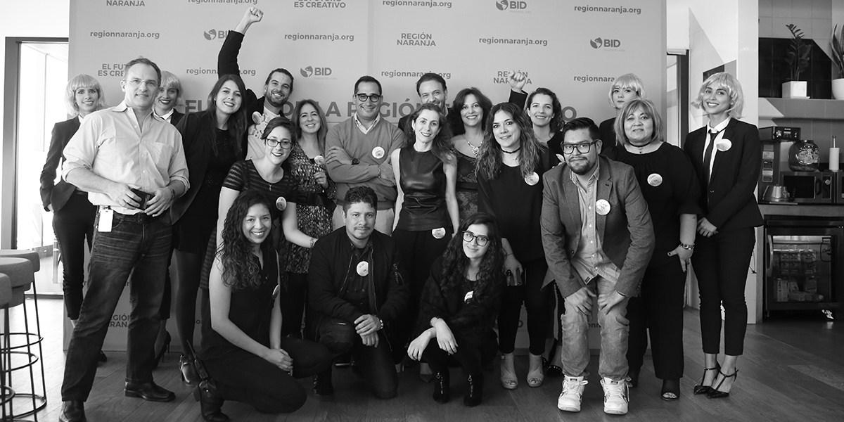 El BID presenta campaña Región Naranja para crear red más grande talentos creativos