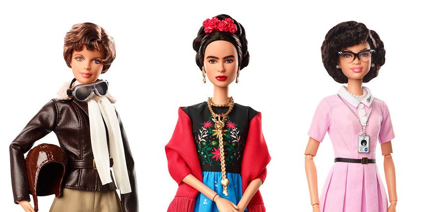 Barbie Sheroes con FridaKahlo
