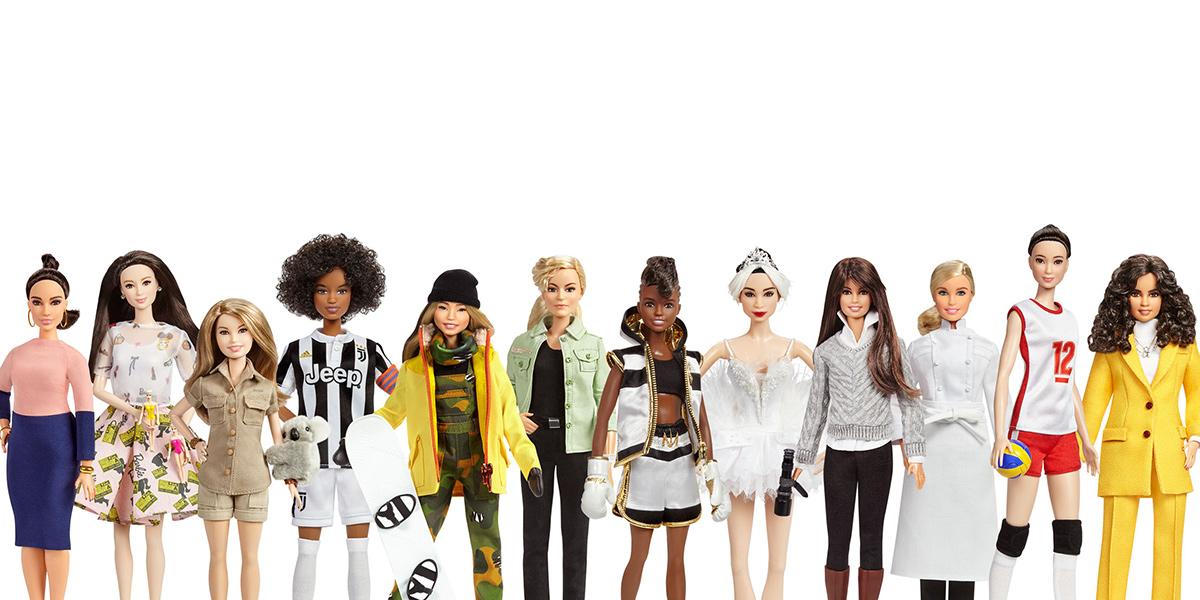Mattel lanza iniciativa de marketing Barbie Sheroes; dos de las 14 muñecas son de México