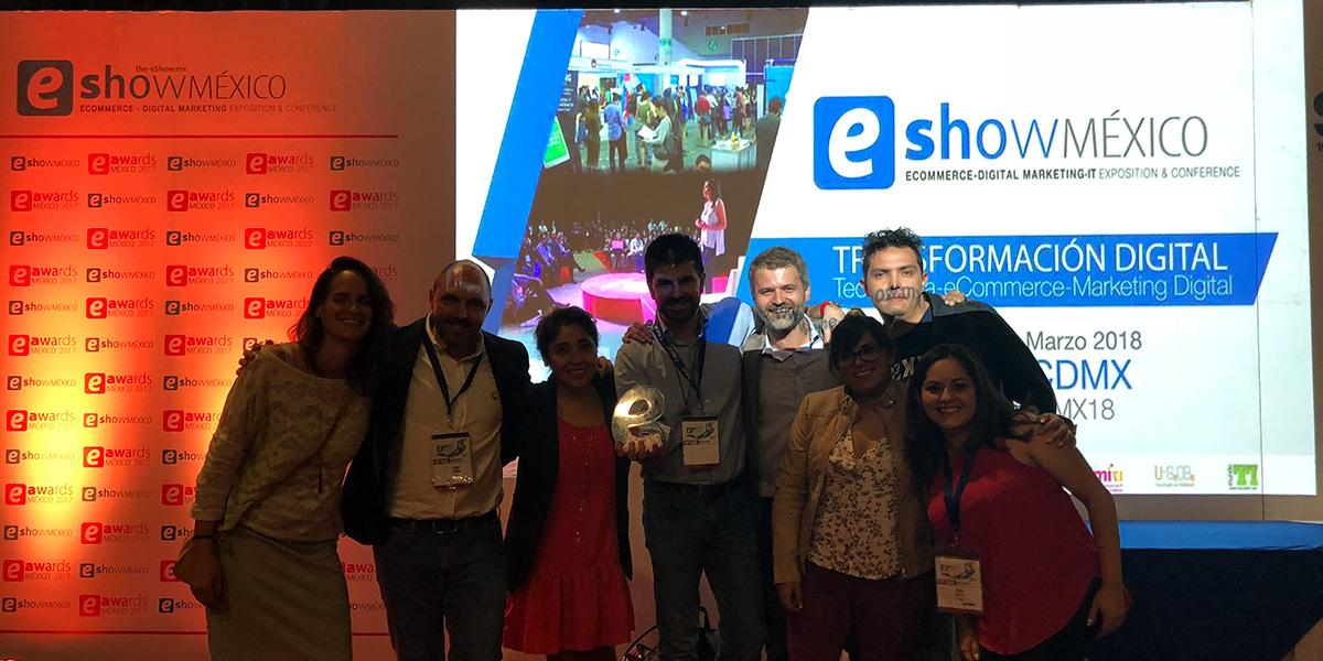 Elogia, Mejor Agencia de Captación de Tráfico en los eAwards 2018