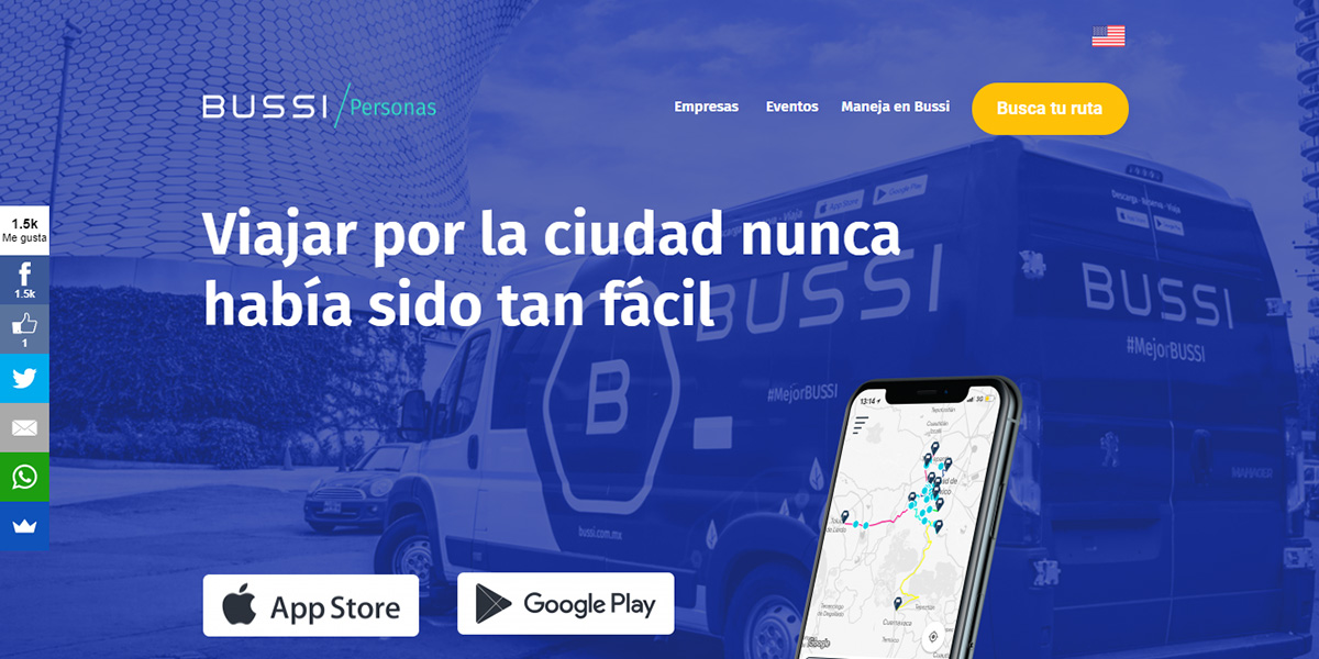 Bussi, una nueva alternativa de transporte privado