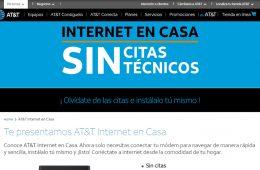 AT&T lanza nuevo servicio de Internet en casa