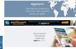 Amazon lanza ventas internacionales en México y más de 100 países