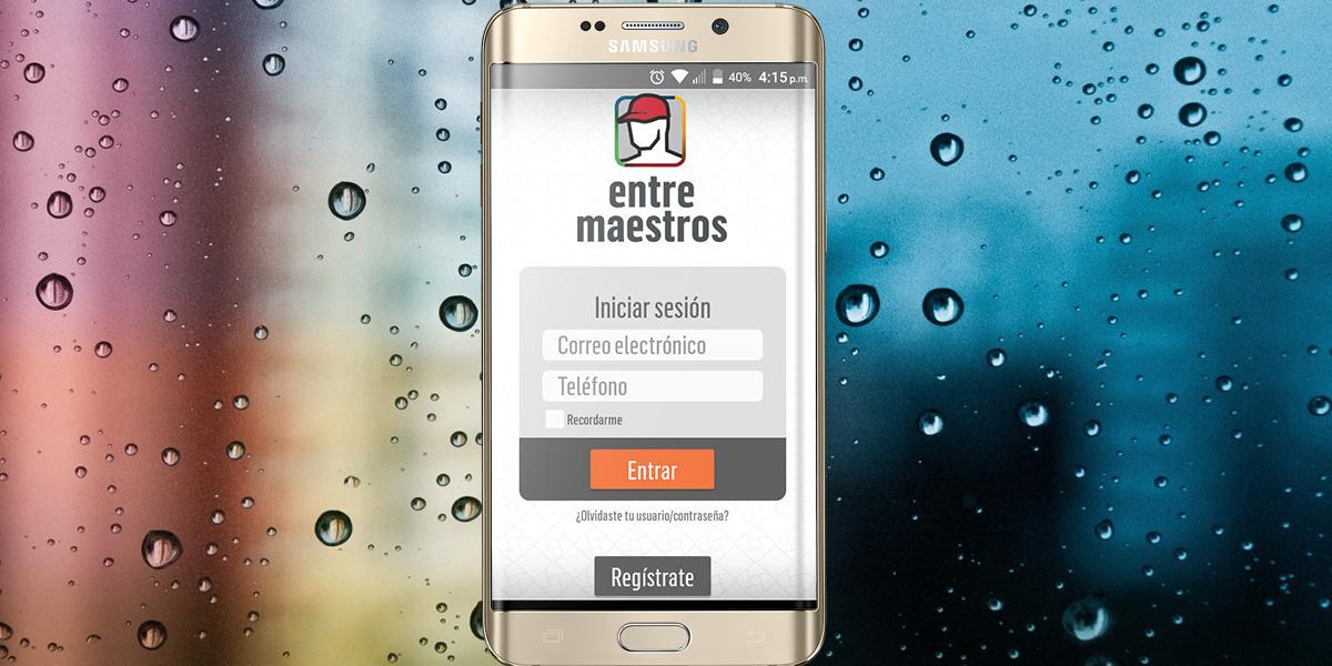 Empresa de cementos lanza app para profesionalizar a albañiles
