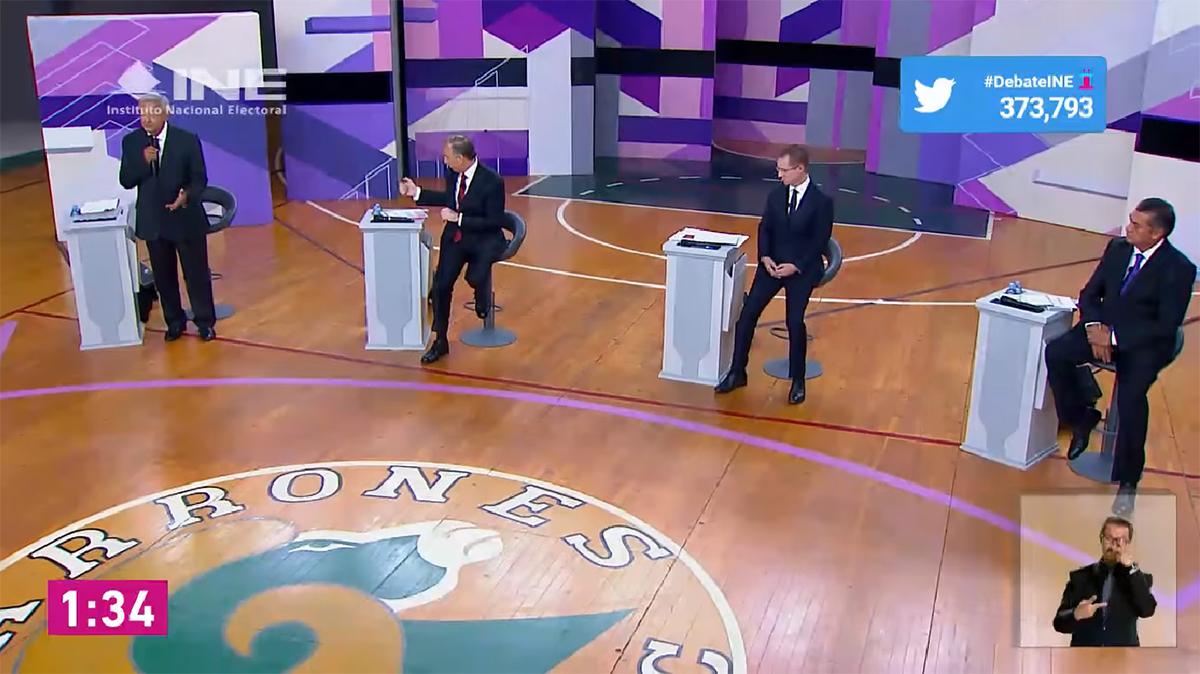 Domina Twitter la conversación sobre segundo debate presidencial