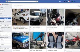 Facebook Marketplace abre la categoría de vehículos