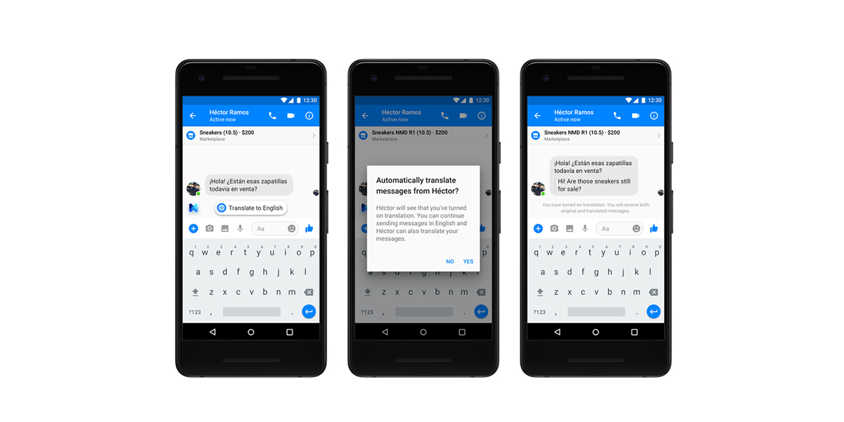 Facebook Messenger te permite traducir de inglés a español y viceversa en México y Estados Unidos