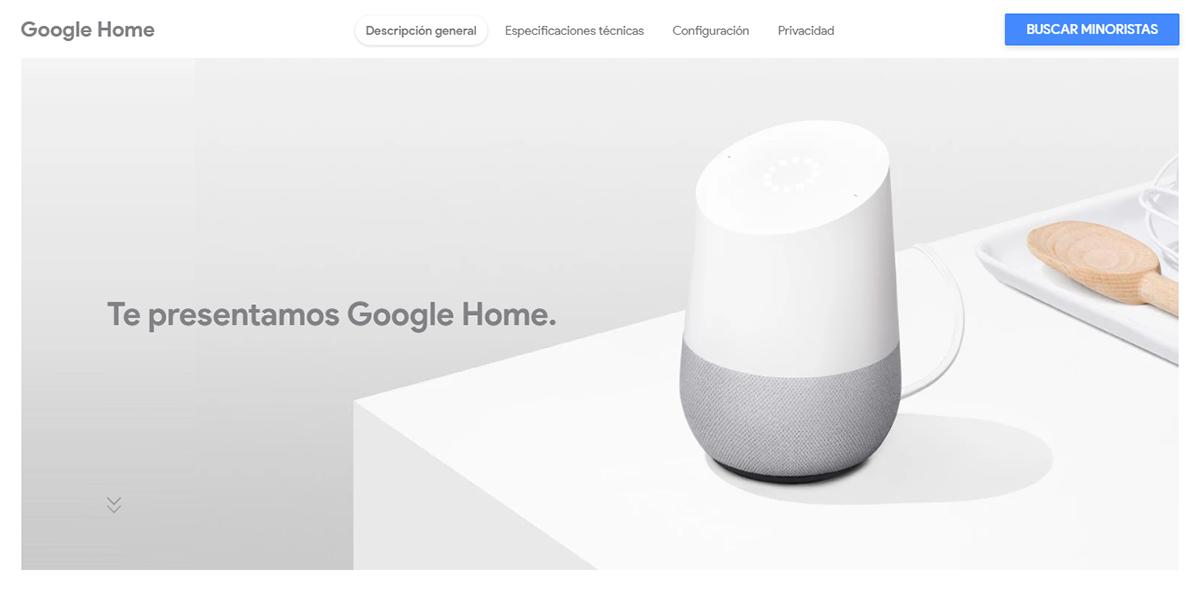 Google Home llega a México; es el primer país latinoamericano donde se venderá la bocina inteligente