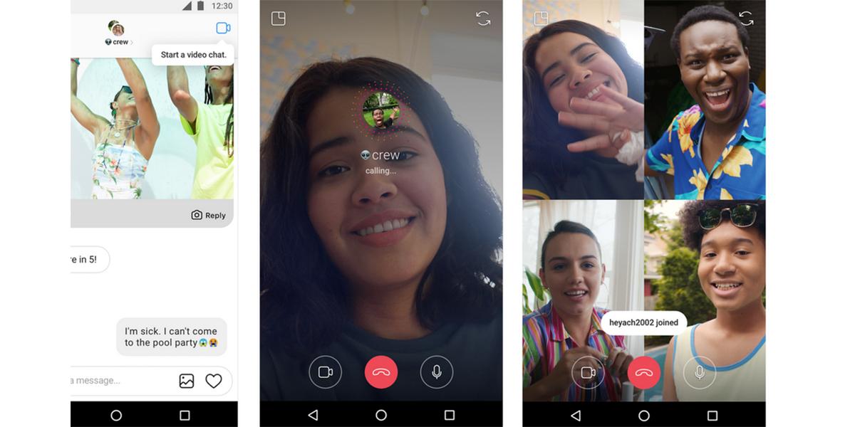 Instagram lanza videochat grupal y ya está activo en México