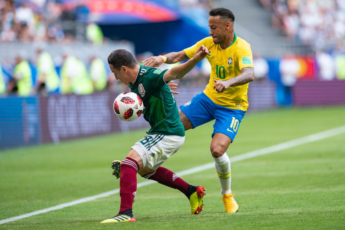 Cómo se vivió el México vs Brasil en redes sociales