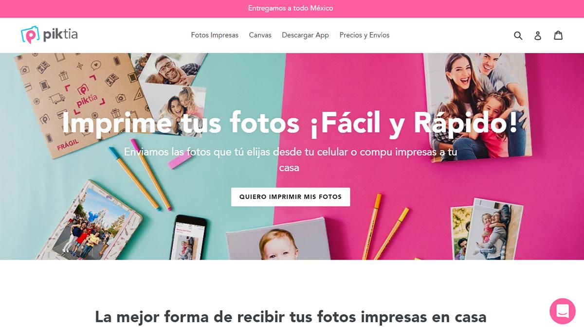Piktia, startup mexicana que te ofrece impresiones de tus fotos digitales