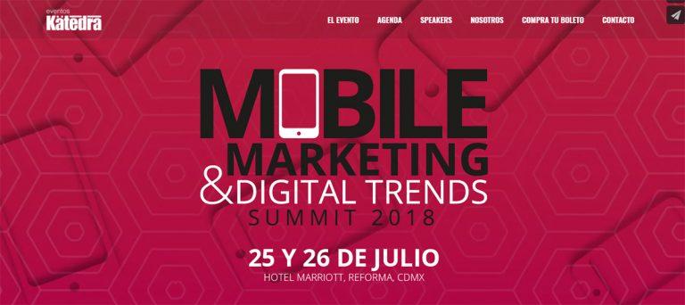Realizarán Mobile Marketing Summit 2018 este 25 y 26 de julio