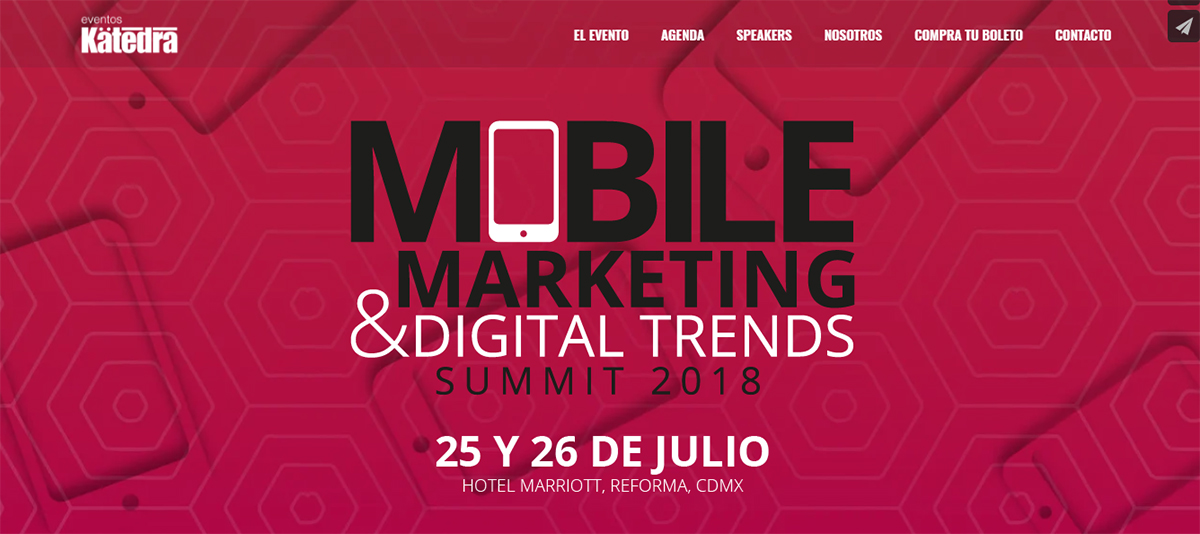 Realizarán Mobile Marketing Summit 2018 este 25 y 26 de julio