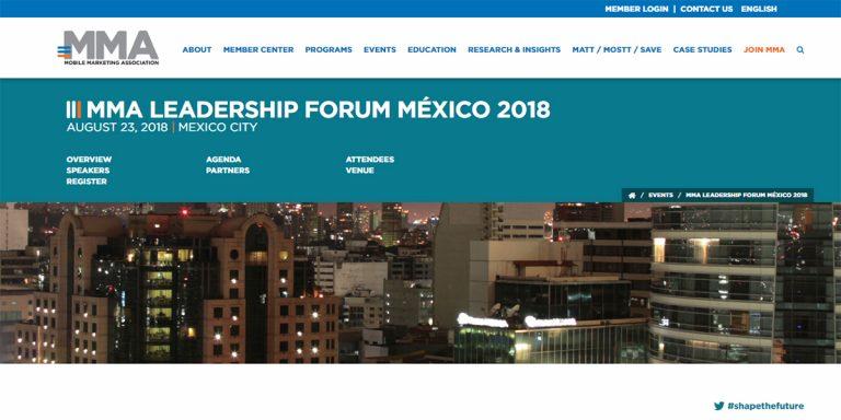 Llega el MMA Leadership Forum México 2018