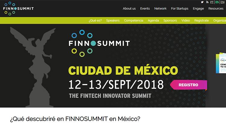 Preparan para septiembre FINNOSUMMIT México 2018