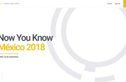 Realizarán conferencia Now You Know México 2018