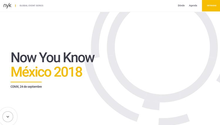 Realizarán conferencia Now You Know México 2018