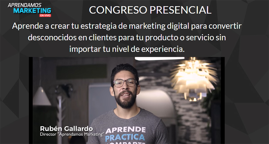 CongresoAprendamosMarketingEnVivo