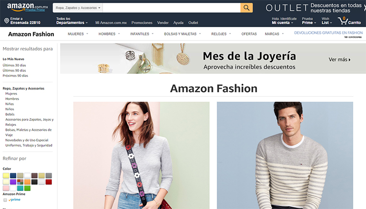 "Amazon Fashion presenta ""See Now Buy Now"""