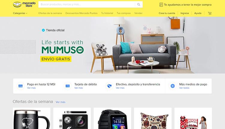 Mercado Libre venderá productos de Mumuso