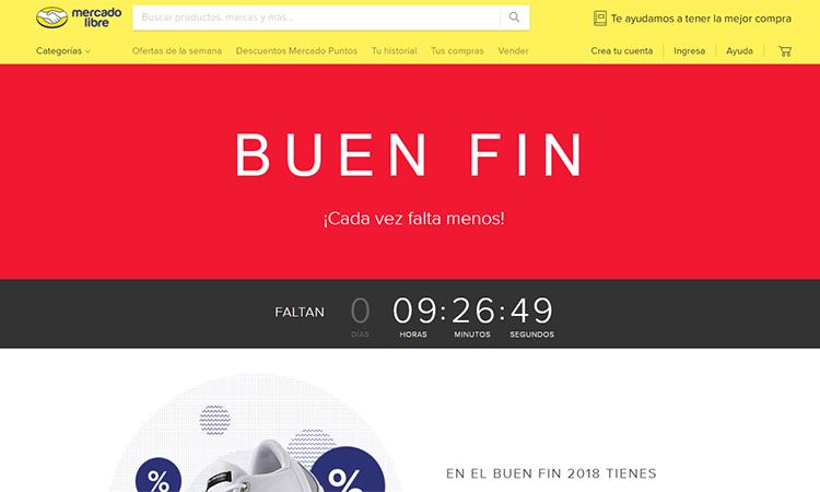 Mercado Libre Buen Fin 2018