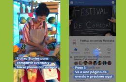 Desde hoy puedes anunciar tus eventos en Facebook Stories