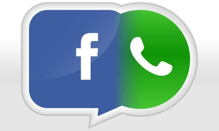 Resultado de imagen para facebook + whatsapp
