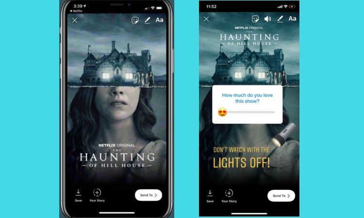 Tus series de Netflix, en Instagram Stories: la plataforma de streaming se hace más social