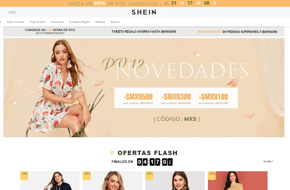 Tienda De Moda Online Shein Opiniones Analisis Y Valoracion Marketing 4 Ecommerce Tu Revista De Marketing Online Para E Commerce