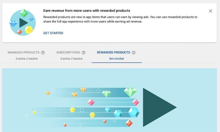 Rewarded Products: Google permitirá recompensar a los usuarios de apps Android por ver anuncios en vídeos